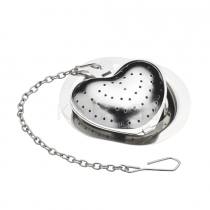 Kitchen Craft, Heart Tea Infuser, Stainless Steel