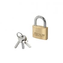 Master Lock, Iron Brass Finish Padlock, 40 MM