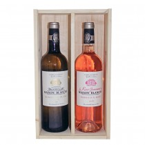 Maison  Blanche, White Wine 2016 & Rose Wine 2015