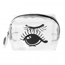 "Miss Etoile, Multi bag S PVC ""open and closed eye"" 11x7,5x7cm"