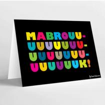 Mukagraf, Mabrouk In Latin, Greeting Card