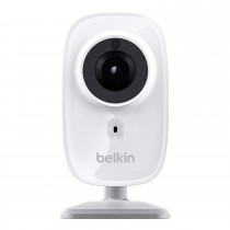 Belkin, NetCam, HD Wireless, IP Camera for Tablet and Smartphone, with Night Vision and Digital Audio, White - F7D7602as