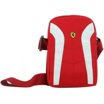 FERRARI Universal Bag V2 L, Black and White