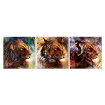 Scarecrow, Frame, 60x60 each, Painting