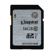 Kingston Digital SDHC Class 10 UHS I 45R/10W Flash Memory Card - SD10VG2