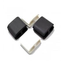 Iconz Cable Organizer Square Medium Black/White - IMN-CO2MKW