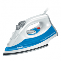 Sencor, Steam Iron, 1600 W , White/Blue, SSI-2027BL