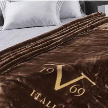 V1969, Velluto Caffe, 220x240 cm, Blanket