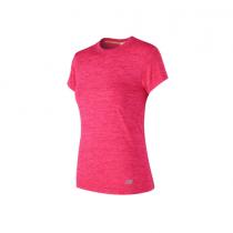 New Balance, M4M Seamless Short Sleeve, Alpha pink