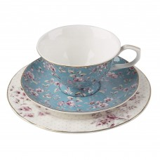 Creative Tops, Katie Alice Ditsy Floral Afternoon Tea Set Teal