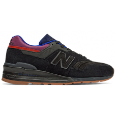 New Balance, M997CS Men's shoes ,Black with Red