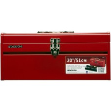 Stack-On, R420 51 cm General Purpose Steel Tool Box, Red
