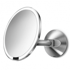 simplehuman, 20cm wall mount sensor mirror 5x magnification