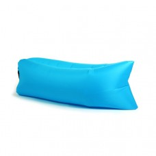 The Lounger, Air Inflatable Sleeping Bag, Blue