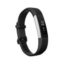 FitBit Alta HR, Black- Stainless Steel - Large/Small