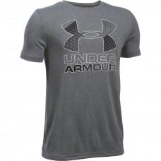 Under Armour Boy's Training Big Logo Hybrid Tshirt