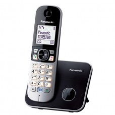 Panasonic Digital Cordless Phone with 1 Handset, Silver - KXTG6811BXB