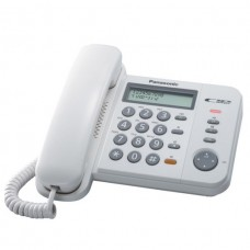 Panasonic Corded Telephone White - KXTS580MXW