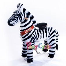 Ponycycle, Zebra 62 x 28.5 x 76 cm